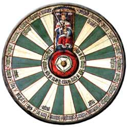 Replica of the Round Table.